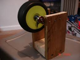 my homemade tire balancer check it out