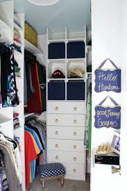 walk in closet makeover at frazzled joy