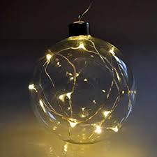 987 Led Glaskugel Zum Aufhängen 10er Led Lichterkette