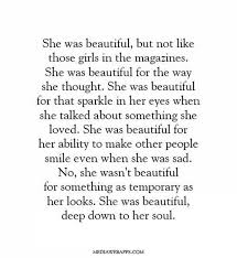 Beautiful True Quotes Best of Quotes Soul Smile Inner Beauty True Beauty Sillyluv
