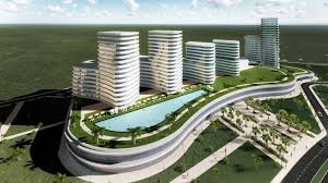 office block design. Shopping MALL \u0026 Office Building, Mozambique Block Design E