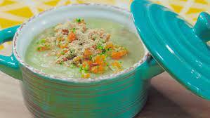 Cách nấu súp khoai lang thơm ngon, bổ dưỡng cho bé ăn dặm