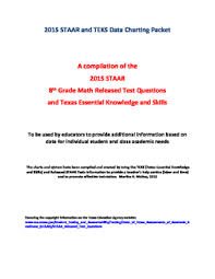 Staar 8th Worksheets Teaching Resources Teachers Pay