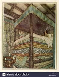 princess and the pea illustration. Contemporary Pea The Princess And The Pea  Edmund Dulac 18821953 Illustration From U0027 In And Illustration N