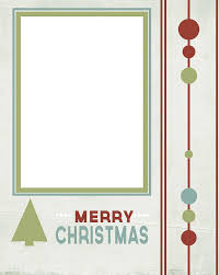 43 christmas card templates to create photo cards