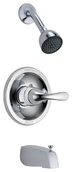 delta monitor 13 series tub shower trim 1 deeper escutcheon chrome