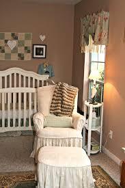 nursery glider chair cushions baby nursery rockers rustic