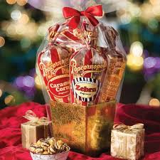 limited edition gold 5 cone gift basket
