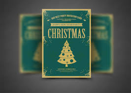 Christmas & New Year Flyer Template