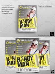 Handyman Flyer Template Classy Handyman Flyer Corporate Flyer Pinterest Psd Templates And