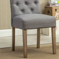 roundhill furniture habit tufted parsons dining chair set of 2 hayneedle