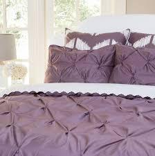 plum purple valencia pintuck duvet cover twin twin xl
