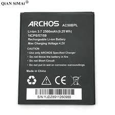 For Archos 50b Platinum phone ...