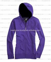 Design One Hoodie Wholesale Women Custom Full Zip Sports Hoodies Blank Design Hoodie With Pocket Buy Plus Size Womens Clothing Wholesale Blank Women Plain