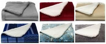 Sherpa Throw Blanket Kohls