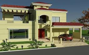 Small Picture 60 X 100 Wapda Town 1 Kanal House Design 3D Front elevation in
