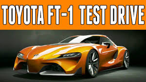 Gran Turismo 6   Toyota FT-1   Test Drive & Review   The Next ...