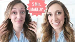 5 minute makeup full face of makeup quick and easy video and post