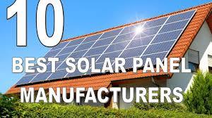 10 Best Solar Panel Manufacturers in India