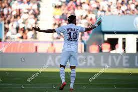 Paris SaintGermains Neymar Jr reacts ...