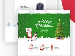 Free Christmas Website Templates Christmas Sale Website Free Psd Template Psd Repo
