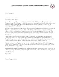 Letter To Ask For Raise Donation Request Email Template