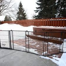 carlson pet gates outdoor super gate with door dog design 1