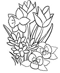 April Coloring Sheets Printable Spring Color Sheet Printable