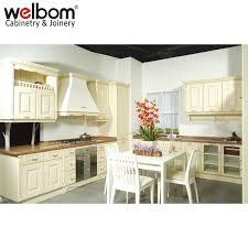 welbom modular design pvc kitchen cabinets