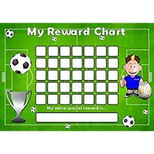 Football Reward Chart Amazon Co Uk Office Products
