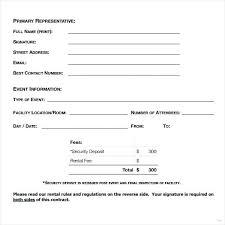 Blank Rental Agreement Absolute Original Captures Simple 7 Samples