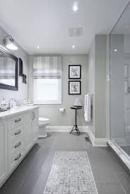 Models Bathroom Remodel Gray Tile R Intended Modern Design