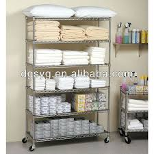 metal storage shelves. commercial metal steel rolling storage shelving rack /chrome wire shelf shelves
