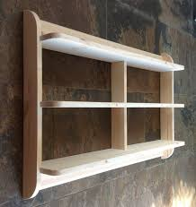 Small Picture Wide wall mounted open back shelf unit Kitchen shelves or dvd