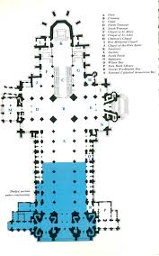 Cathedrals Structural Characteristics  Gothic ArchitectureCathedral Floor Plans