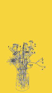 Yellow Aesthetic iPhone 8 Wallpaper ...