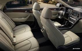 picture of 2018 hyundai sonata hybrid front leather interior