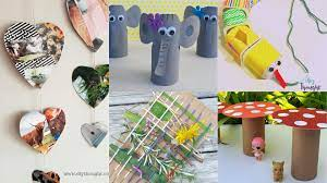 lockdown kids crafts using recycled