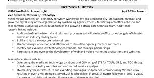 Marketing Job Resume Technician Resume Examples Catering Server