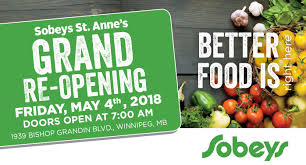 sobeys st anne s grand re opening