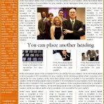sample company newsletter newsletter format examples 10 company newsletter templates free