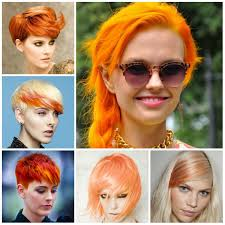 2017 Orange Hair Color Ideas Hairstyle Ideas Man And Woman