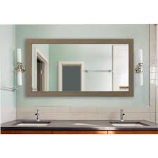 champagne colville vanity vanity exta large mirror dv081xl the home depot