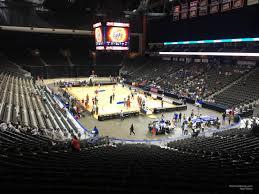Vystar Veterans Memorial Arena Section 110 Basketball