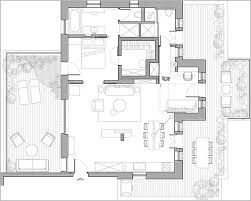 Floor Plan Of Fabulous Modern Apartment In Israel  Plans  PinterestModern Apartment Floor Plans