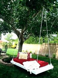 diy baby swing hanging pallet bed outdoor mattress swinging for full cradle
