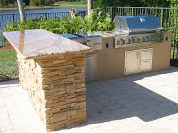 Amazing L Shaped Outdoor Kitchen Island LaredoReads - Outdoor kitchen miami