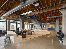 ideas for office design. Fascinating Large Home Office Design With Open Ceiling And Cozy Waiting Room Idea Ideas For