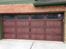 garage door opener installation light colros dark colors