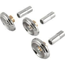 delta bathtub faucet parts fresh delta set of 3 handle tub and shower faucet metal escutcheons